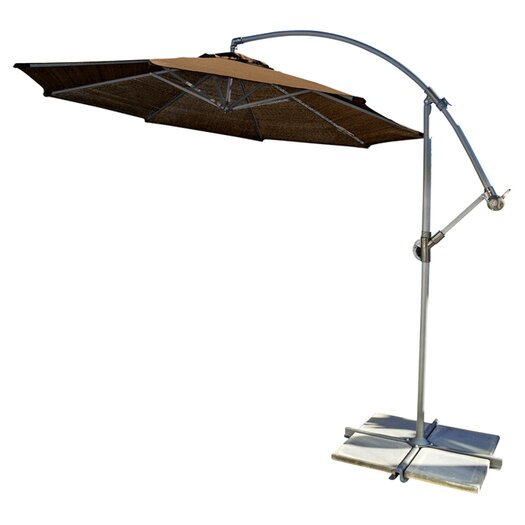 Coolaroo 10' Round Cantilever Patio Umbrella