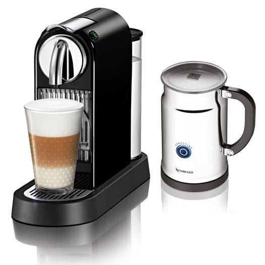 Nespresso Citiz Espresso Maker with Aeroccino Plus Milk Frother