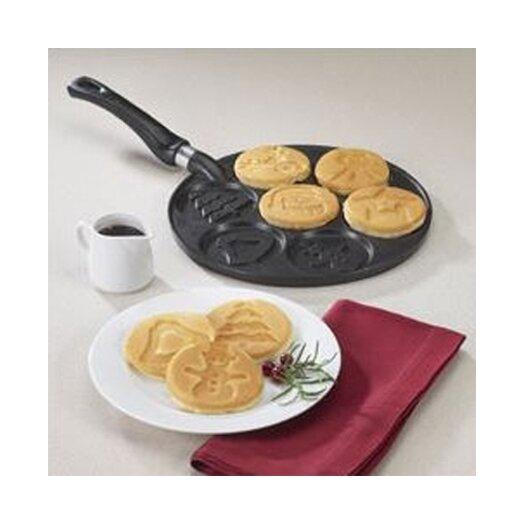 """Nordicware Kitchenware 10.5"""" Holiday Pancake Pan"""