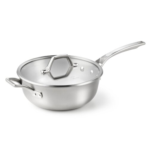 Calphalon AcCuCore 4-qt. Chef's Saute Pan with Lid