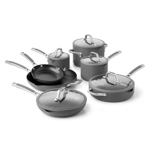 Calphalon Easy System Nonstick 12-Piece Cookware Set