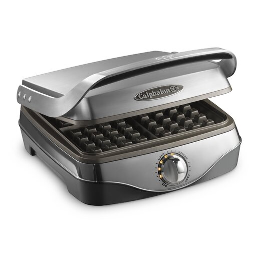 Calphalon Kitchen Electrics No Peek Waffle Maker