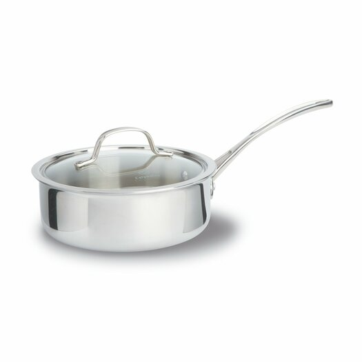 Calphalon Tri-Ply Stainless Steel 2.5-qt. Saucier with Lid