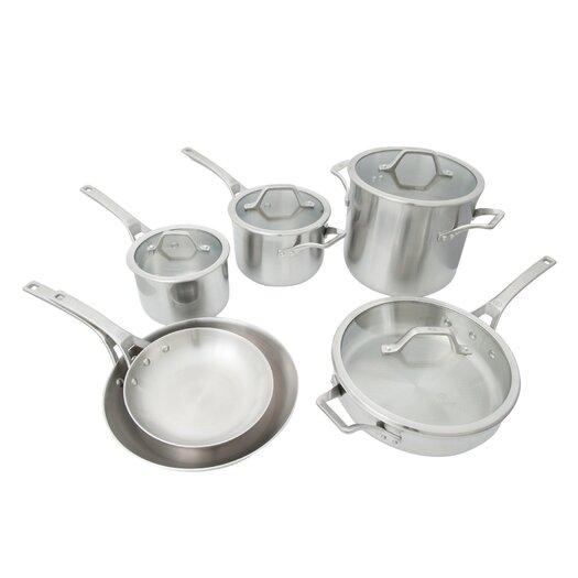 Calphalon AcCuCore 10-Piece Cookware Set