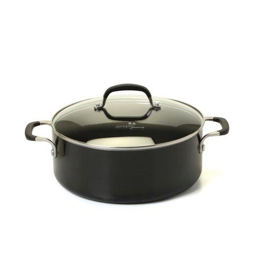 Calphalon Simply Enamel 5-qt. Soup Pot with Lid