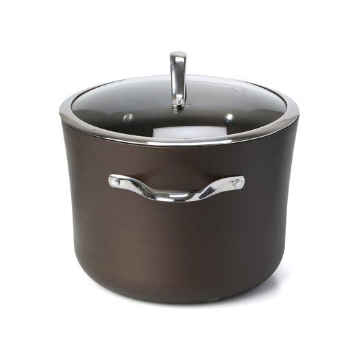 Calphalon Contemporary Bronze Nonstick 8-qt. Stock Pot with Lid