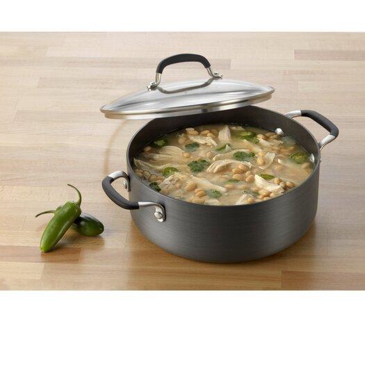 Calphalon Simply Nonstick 5-qt. Soup Pot with Lid
