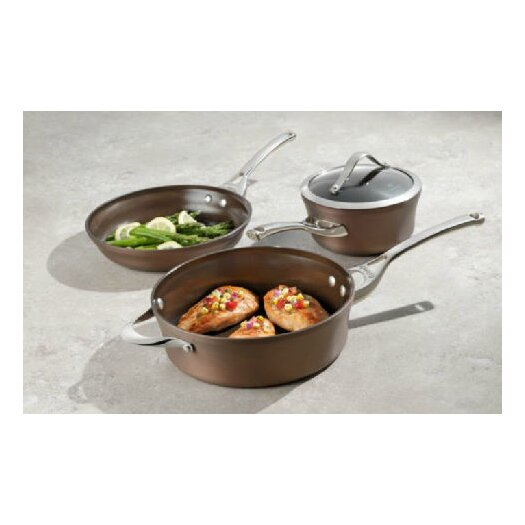 Calphalon Contemporary Hard-Anodized Aluminum 10-Piece Cookware Set