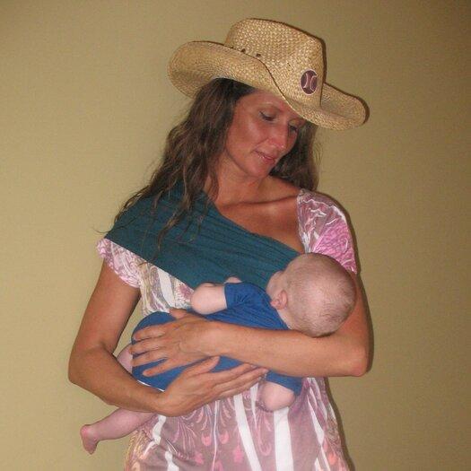 Slurp & Burp Baby Bond Couture Nursing Cover in Riviera Turquoise