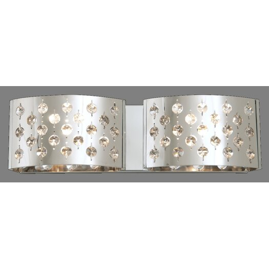DVI Moonguard 2 Light Bath Vanity Light