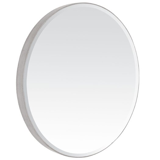 Majestic Mirror Contemporary Beveled Oval Mirror
