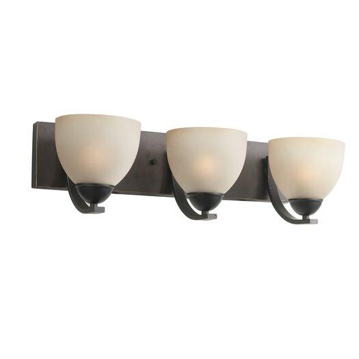 Woodbridge Lighting North Bay 3 Light Bath Bar