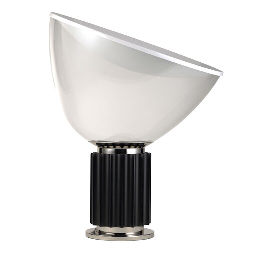 "FLOS Taccia 21.26"" H Table Lamp with Bowl Shade"