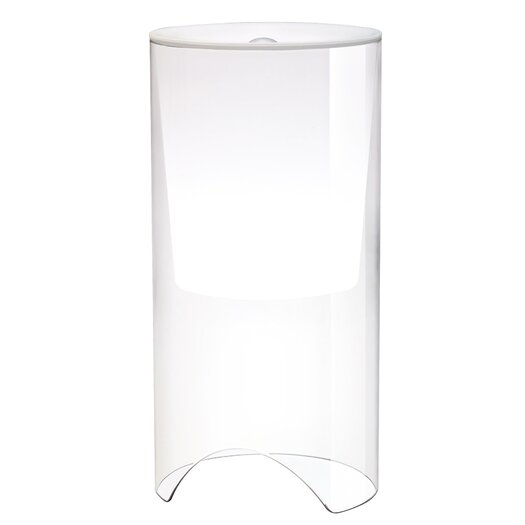 "FLOS Aoy 23.6"" H Table Lamp with Drum Shade"
