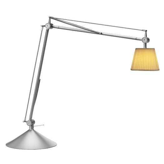 "FLOS Archimoon Soft 22.3"" H Table Lamp with Empire Shade"