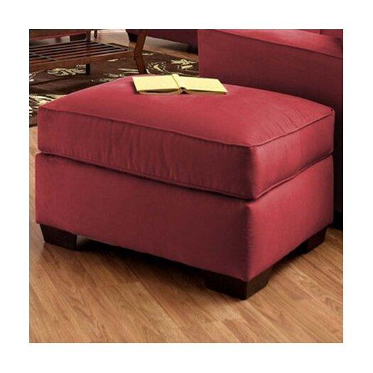 Klaussner Furniture Heather Ottoman