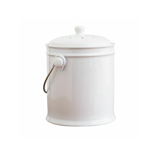 Natural Home Ceramic Compost Bucket