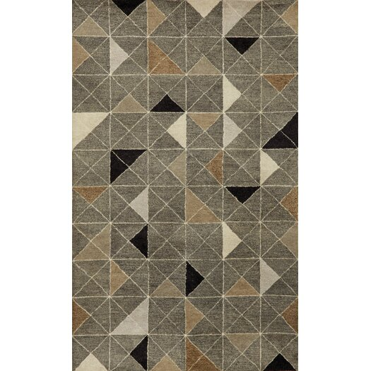 Liora Manne Fantasy Triangles Grey Area Rug