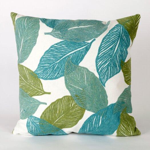 Liora Manne Mystic Leaf Square Indoor/Outdoor Pillow
