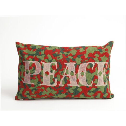 Liora Manne Visions II Peace Pillow