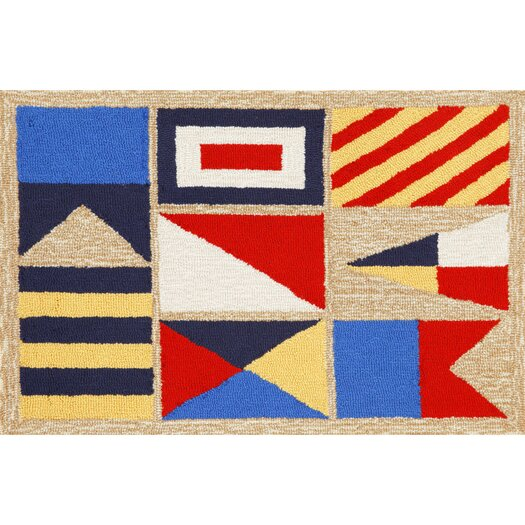 Liora Manne Frontporch Signal Flags Area Rug
