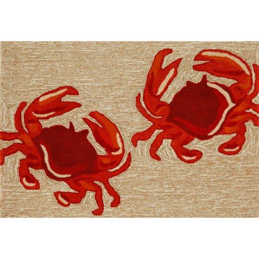 Liora Manne Frontporch Crabs Area Rug
