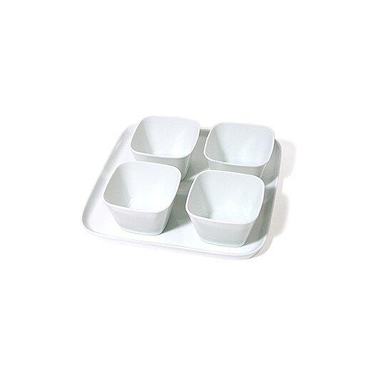 KAHLA Abra Cadabra Pure Gift 5 Piece Condiment Server Set