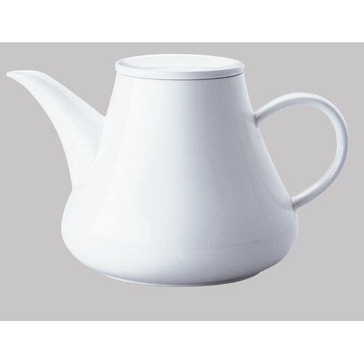 Five Senses White 1.5 Liter Coffee / Tea Pot