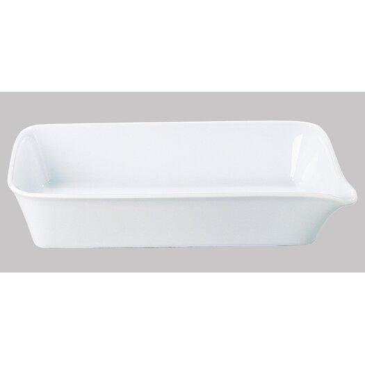 """KAHLA Five Senses White 11""""  Baking Dish"""