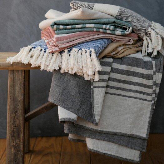 Nine Space Bali Turkish Cotton Throw