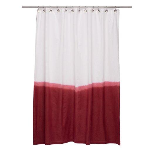 Nine Space Dip Dye Shower Curtain