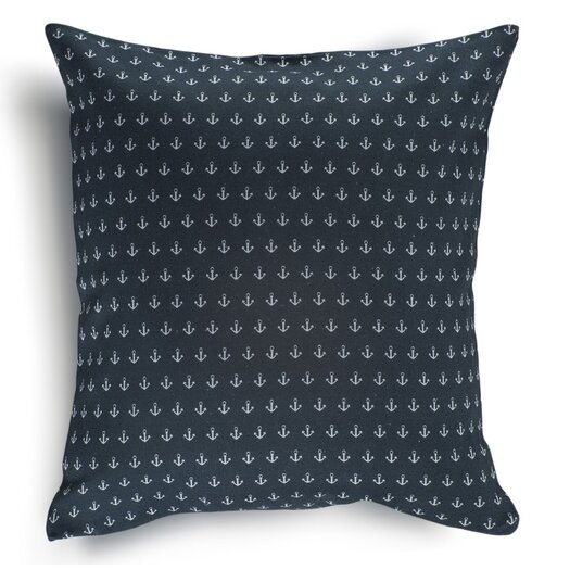 Nine Space Anchor Cotton Pillow Cover