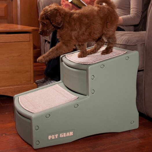 Pet Gear Easy Step II 2 Step Pet Stair
