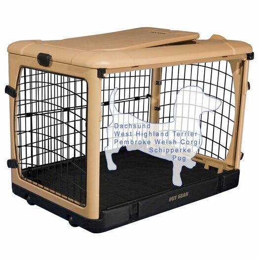 Pet Gear Deluxe Pet Crate II