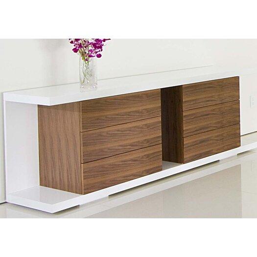 Pangea Home Thite Sideboard