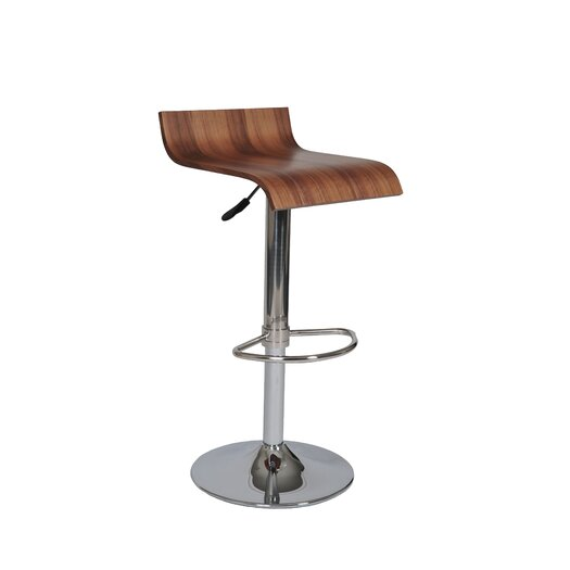 Pangea Home Jax Adjustable Height Bar Stool