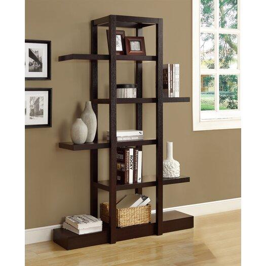 """Monarch Specialties Inc. Open Concept 71"""" Bookcase"""