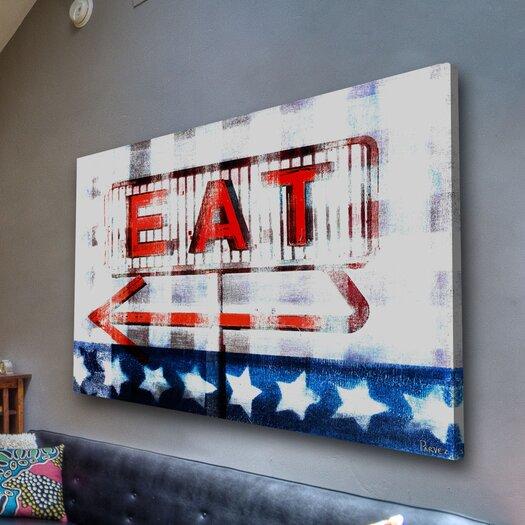 Parvez Taj Eat - Art Print on Premium Canvas