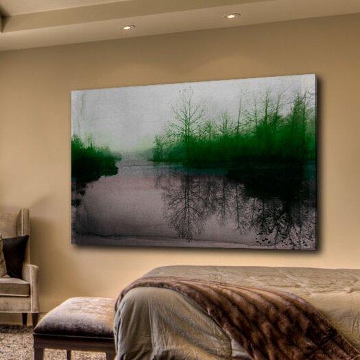 Parvez Taj Beetle Lake - Art Print on Premium Canvas