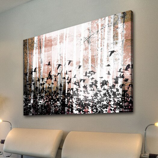 Parvez Taj Aspen Wood - Art Print on Premium Canvas