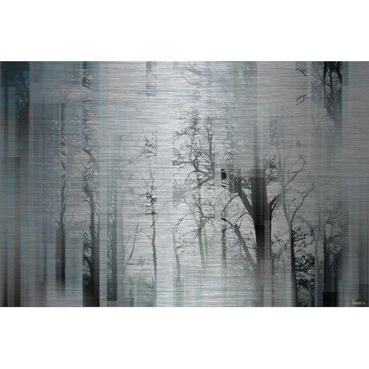 Wild Trees Graphic Art Plaque