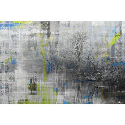 Parvez Taj Misty Lake - Art Print on Premium Canvas