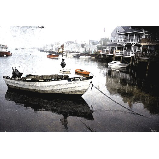 Parvez Taj Still Dock by Parvez Taj Graphic Art on Canvas