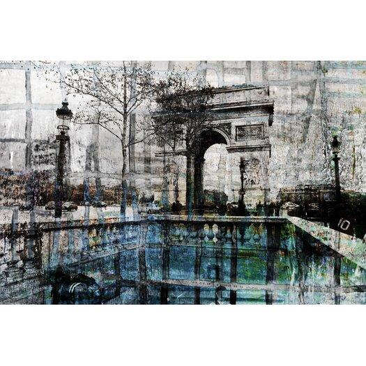 De Lille by Parvez Taj Graphic Art on Canvas