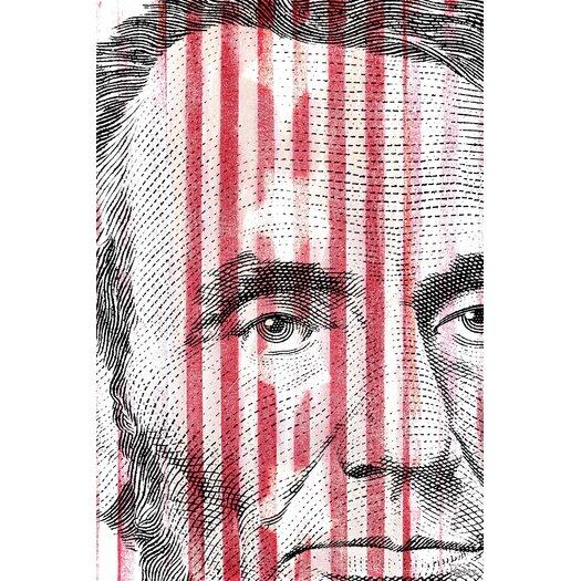 Parvez Taj Abe Lincoln Graphic Art on Canvas