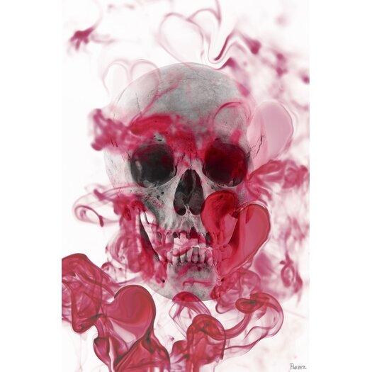 Skull Graphic Art on Canvas
