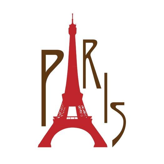 Secretly Designed PARIS Paper Print