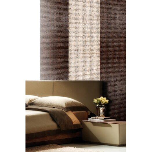 Cocomosaic Coconut Mosaic Tile in Espresso Bliss