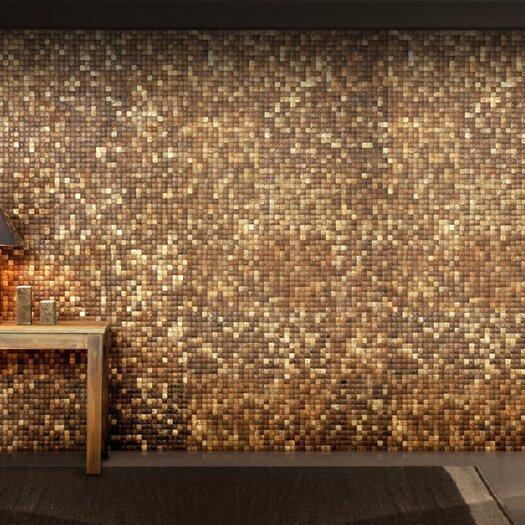 Cocomosaic Coconut Textured Mosaic in Natural Grain
