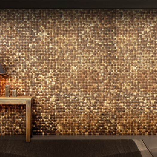 Cocomosaic Coconut Textured Mosaic in Natural Grain